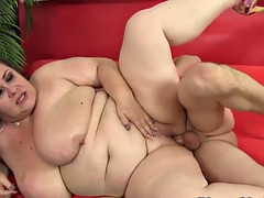 highheeled bbw doggystyled by the brush lover