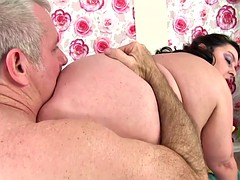 bbw lacy bangs fucked added to cum in brashness