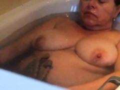 Big stepmom naughty everywhere bath