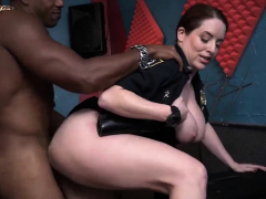 Milf castle english Raw movie captures officer