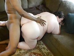 BBW Floosie Get hitched Kristy In someone's bailiwick on every side BBC Pornstar , husband films