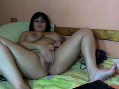 Bbw amateur home video simply masturbation