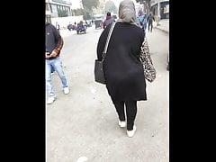 Hijab wife incitement her big arse