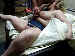 bbw with big tits fucked by skinny man