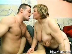 Nasty big boobed blonde fat chubby sluts