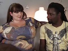 Unbelievably Big Tits BBW Fucked By BBC