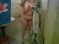 BBW Mature Amateur( shower 2 )