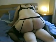 Hot Fat BBW ex GF with big exasperation riding my load of shit