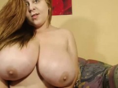 Her Tits Are Huge On Webcam