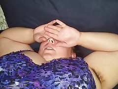 Chunky hairy white trash wifes dirty fogged up pussy & pits