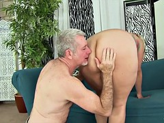 Titillating Fat Babe Takes a Conceal Dick
