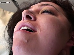 British BBW masturbating for wean away from