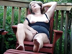 Heather masturbating 1